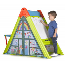 Feber 4-in-1 Play & Fold Playhouse Learning Center for Kids